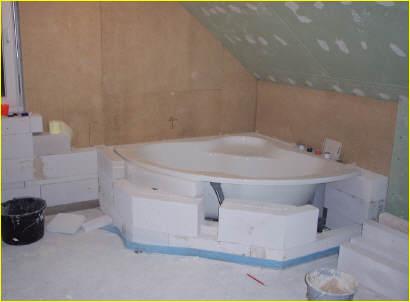 einblick in die badsanierung. Black Bedroom Furniture Sets. Home Design Ideas